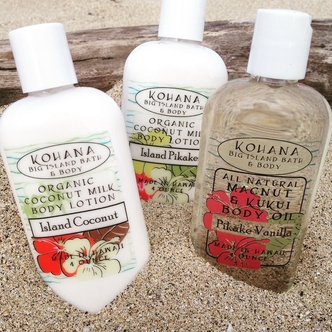 Kohana Organic Soap, Bath, and Body Products handcrafted in